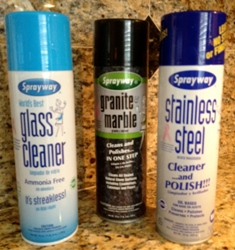 Cans Of Sprayway Cleaners Best Cleaning Brand
